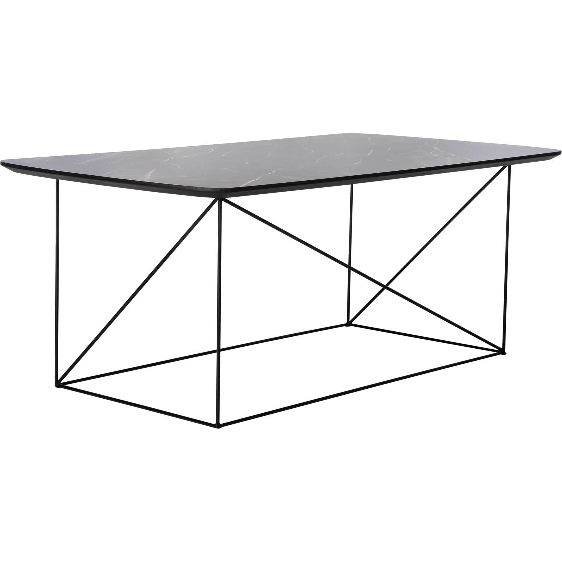 Ryder Coffee Table Dark Gray/Black