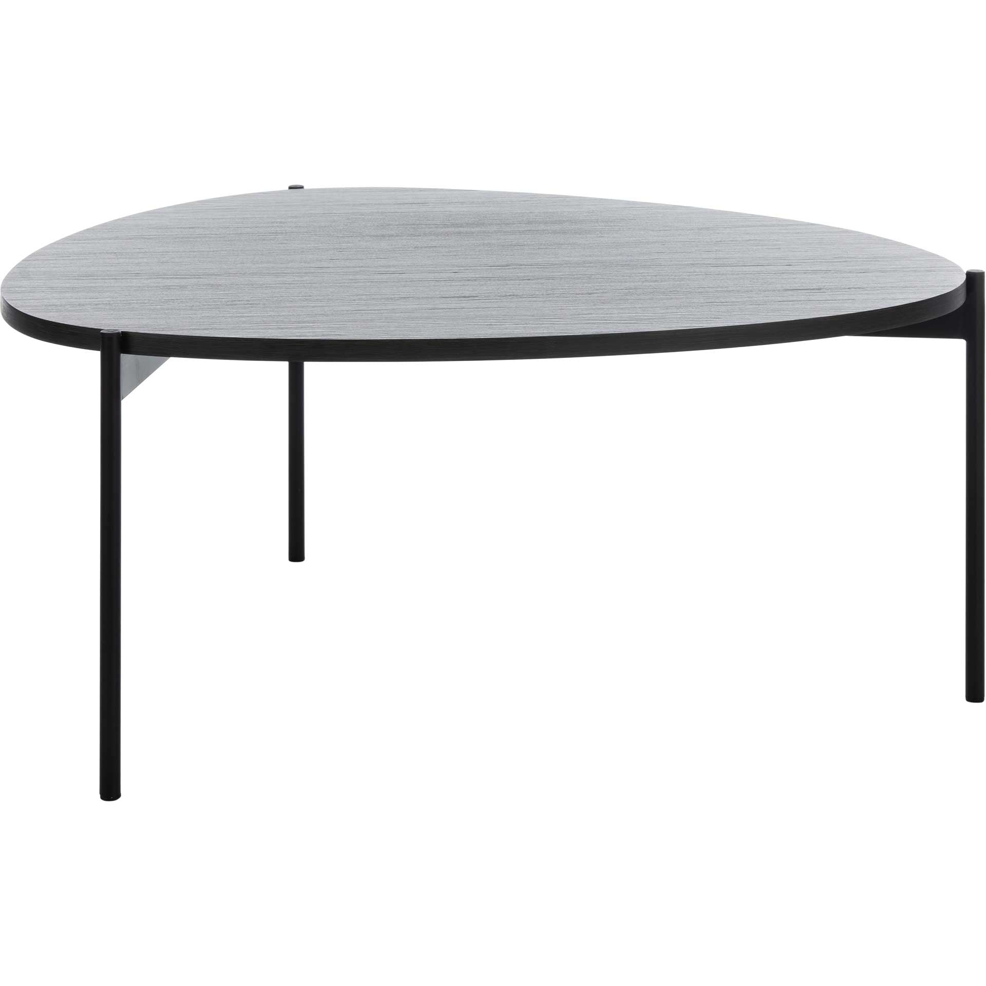 Svaha Coffee Table Dark Gray Oak/Black