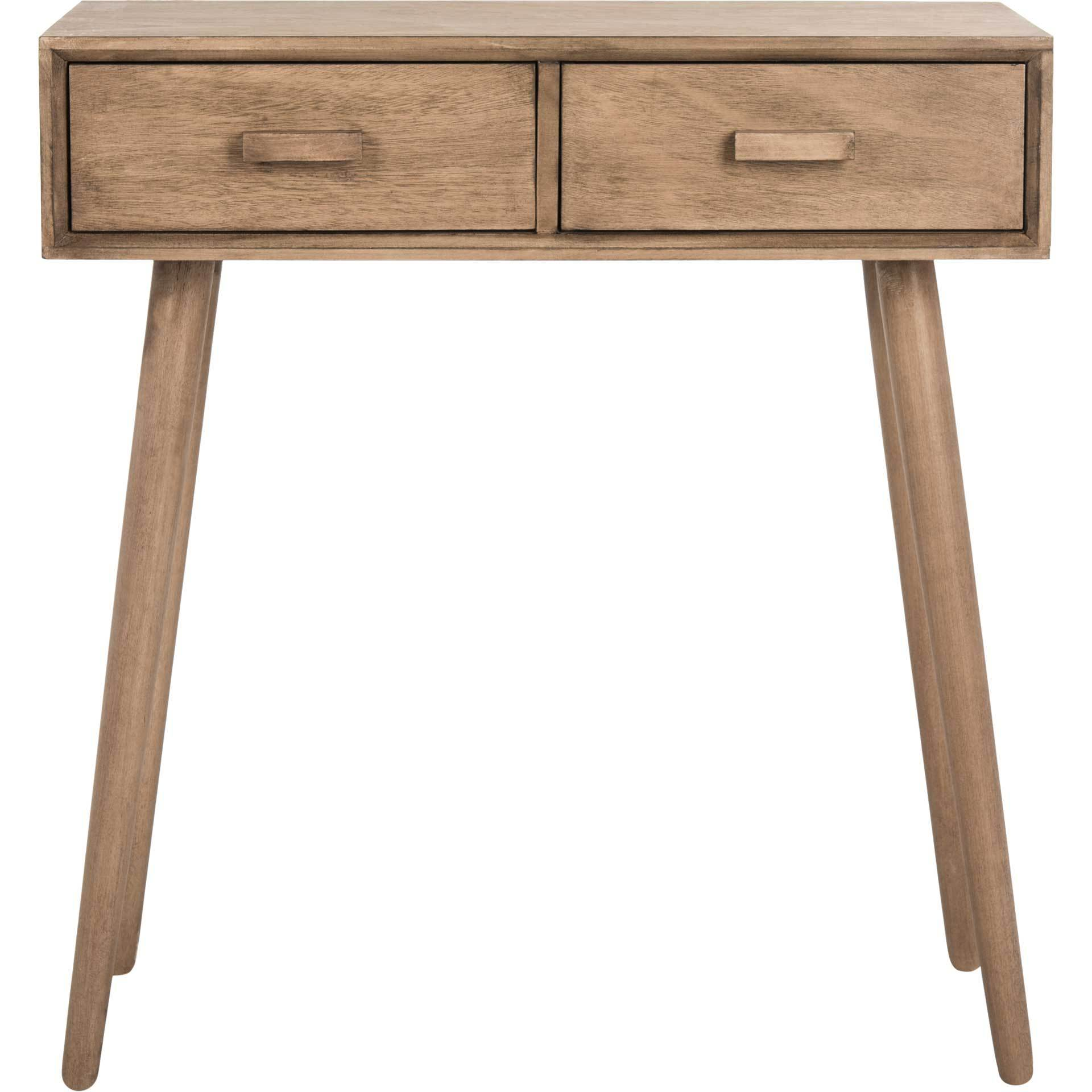 Deandre 2 Drawer Console Desert Brown