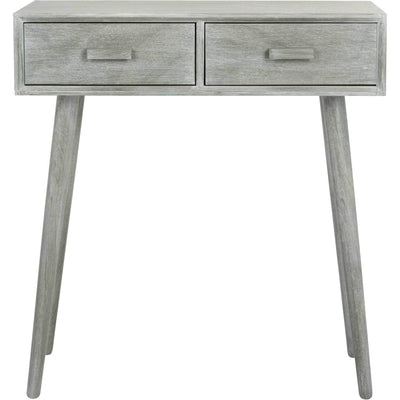Deandre 2 Drawer Console Slate Gray