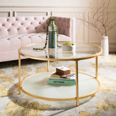 Ivanna 2 Tier Round Coffee Table