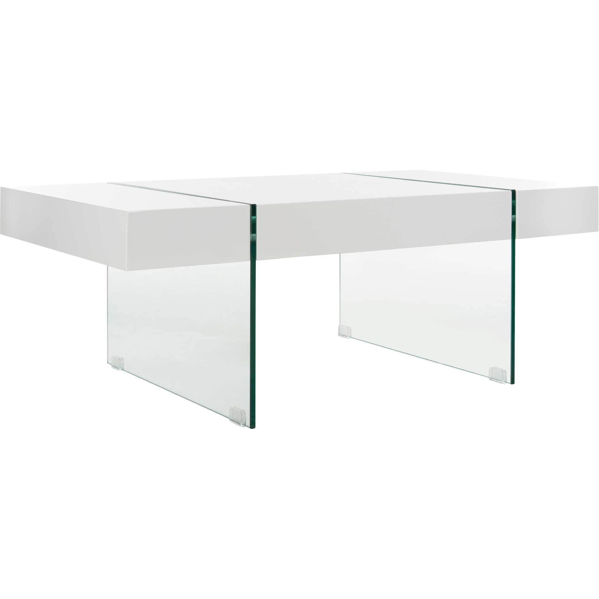 Jadyn Glass Leg Coffee Table