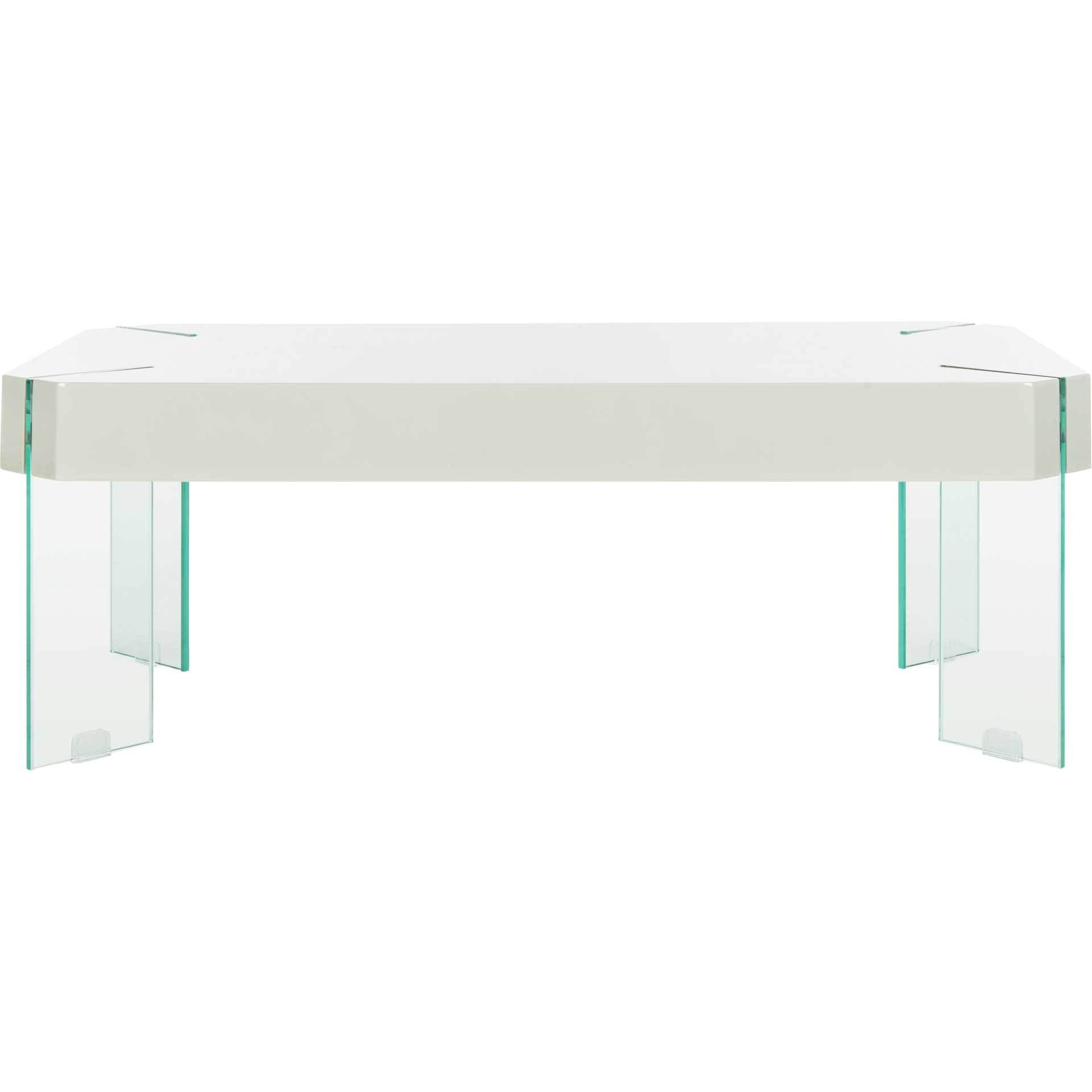 Kasen Glass Leg Coffee Table