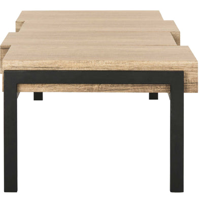 Alexander Contemporary Rustic Coffee Table