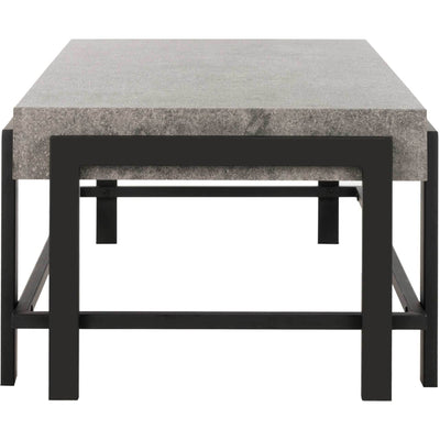 Olivia Rectangular Contemporary Coffee Table