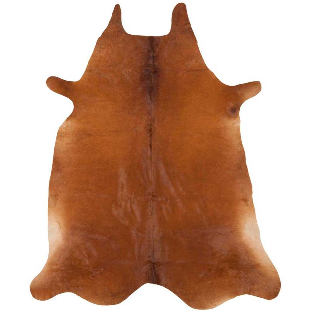 Cowhide Brown Area Rug