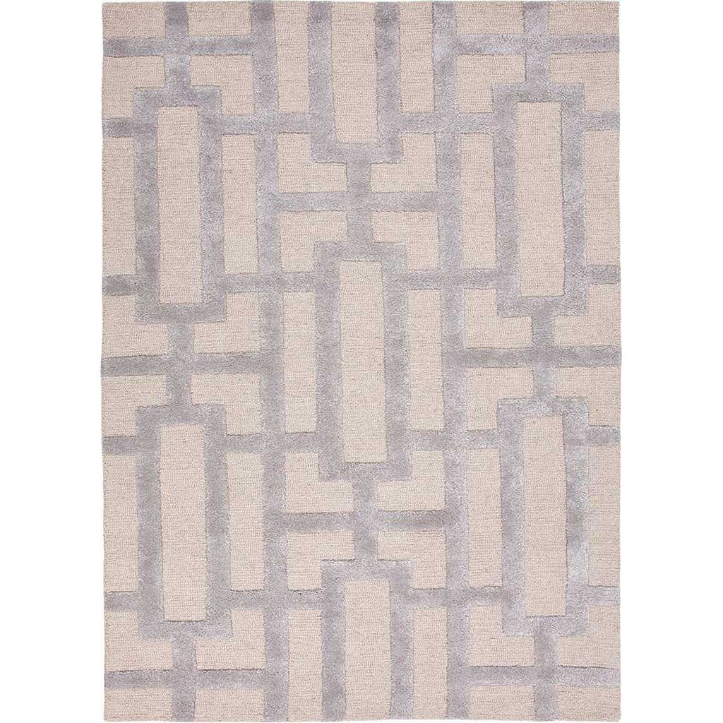 City Dallas Silver Gray/Medium Gray Area Rug
