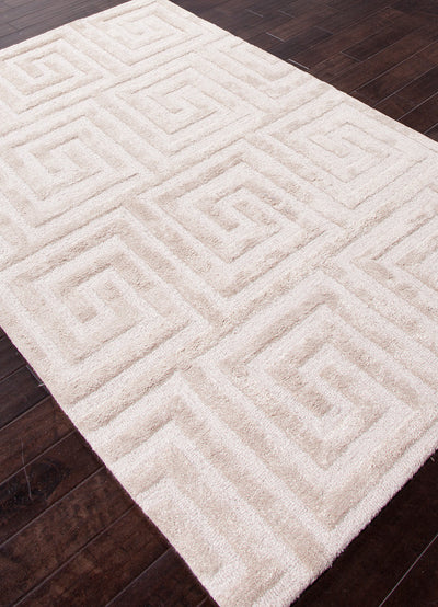 City Keyed Up Dark Ivory Area Rug