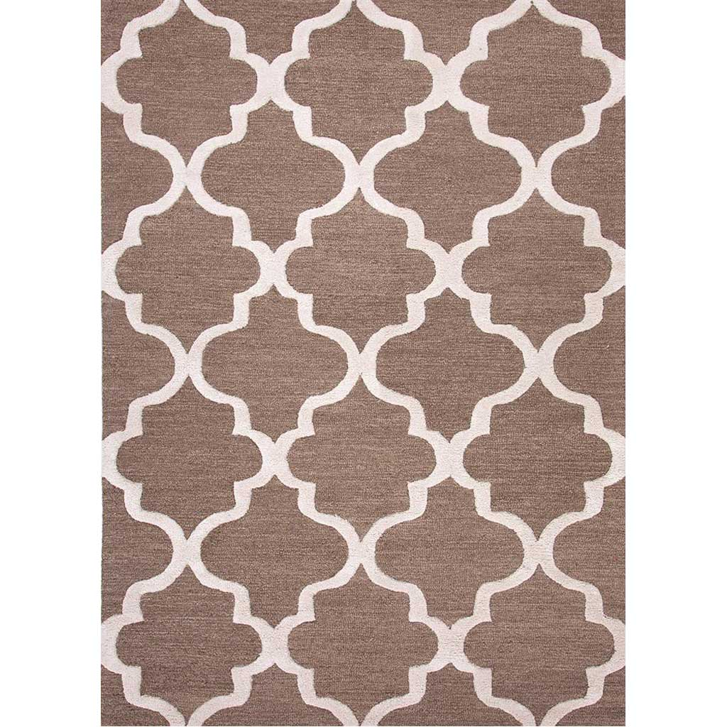 City Miami Mushroom/Antique White Area Rug
