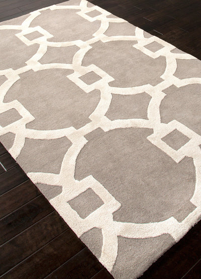 City Regency Ashwood/White Area Rug