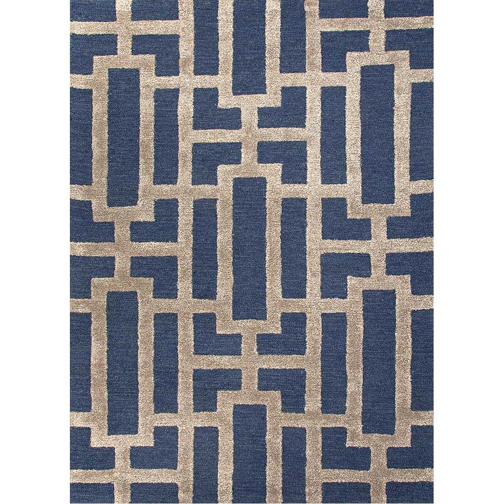 City Dallas Deep Navy/Dark Gray Area Rug
