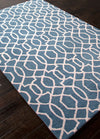 City Sonia Aegean Blue/Antique White Area Rug