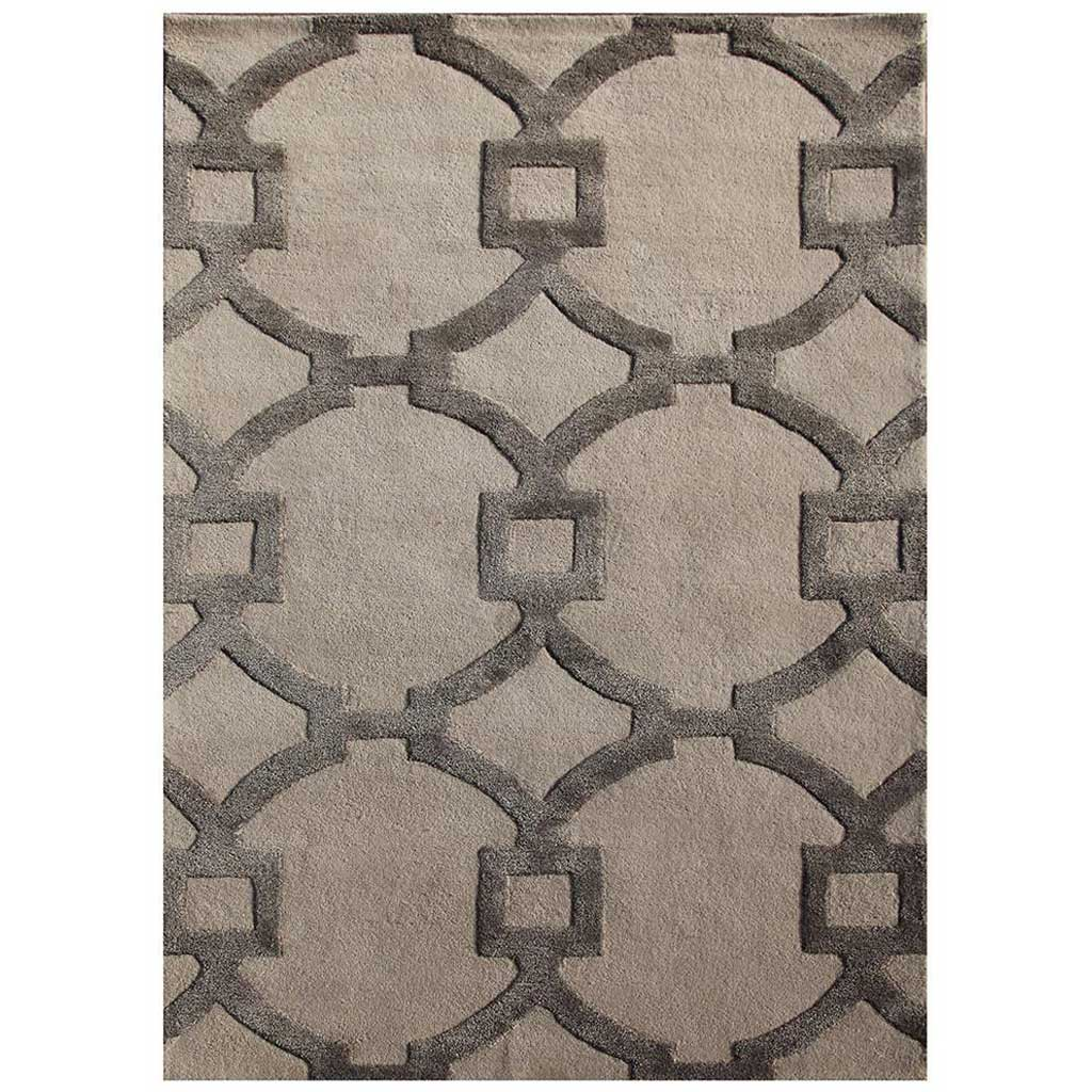 City Regency Antique White/Charcoal Slate Area Rug