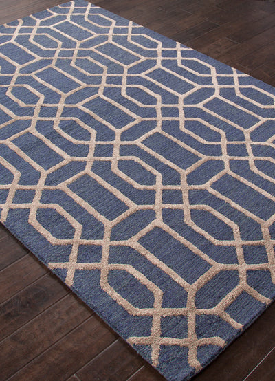 City Bellevue Deep Navy/Dark Gray Area Rug