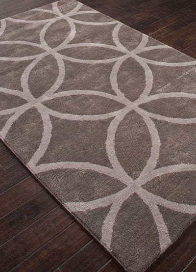 City Austin Liquorice/Medium Gray Area Rug