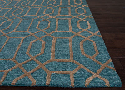 City Bellevue North Sea/Antique Bone Area Rug