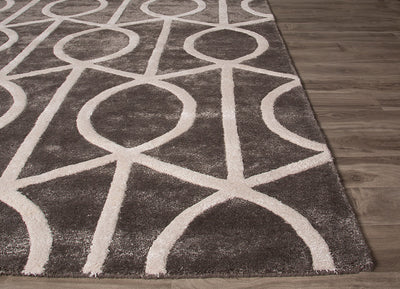 City Seattle Pewter/Whitecap Gray Area Rug