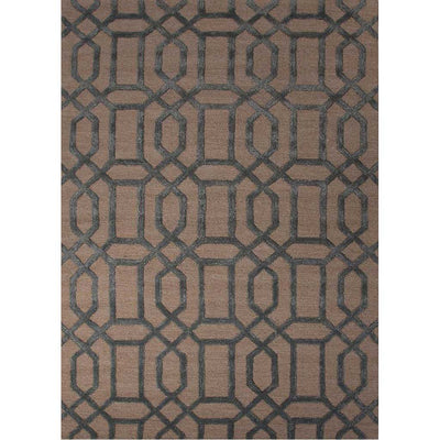 City Bellevue Oatmeal/Smoke Blue Area Rug