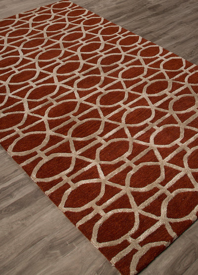 City Springfield Rio Red/Fog Area Rug