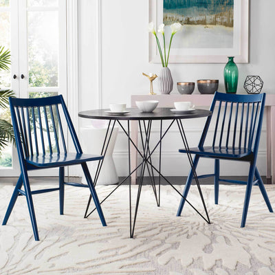 Wrangler Dining Chair Navy (Set of 2)