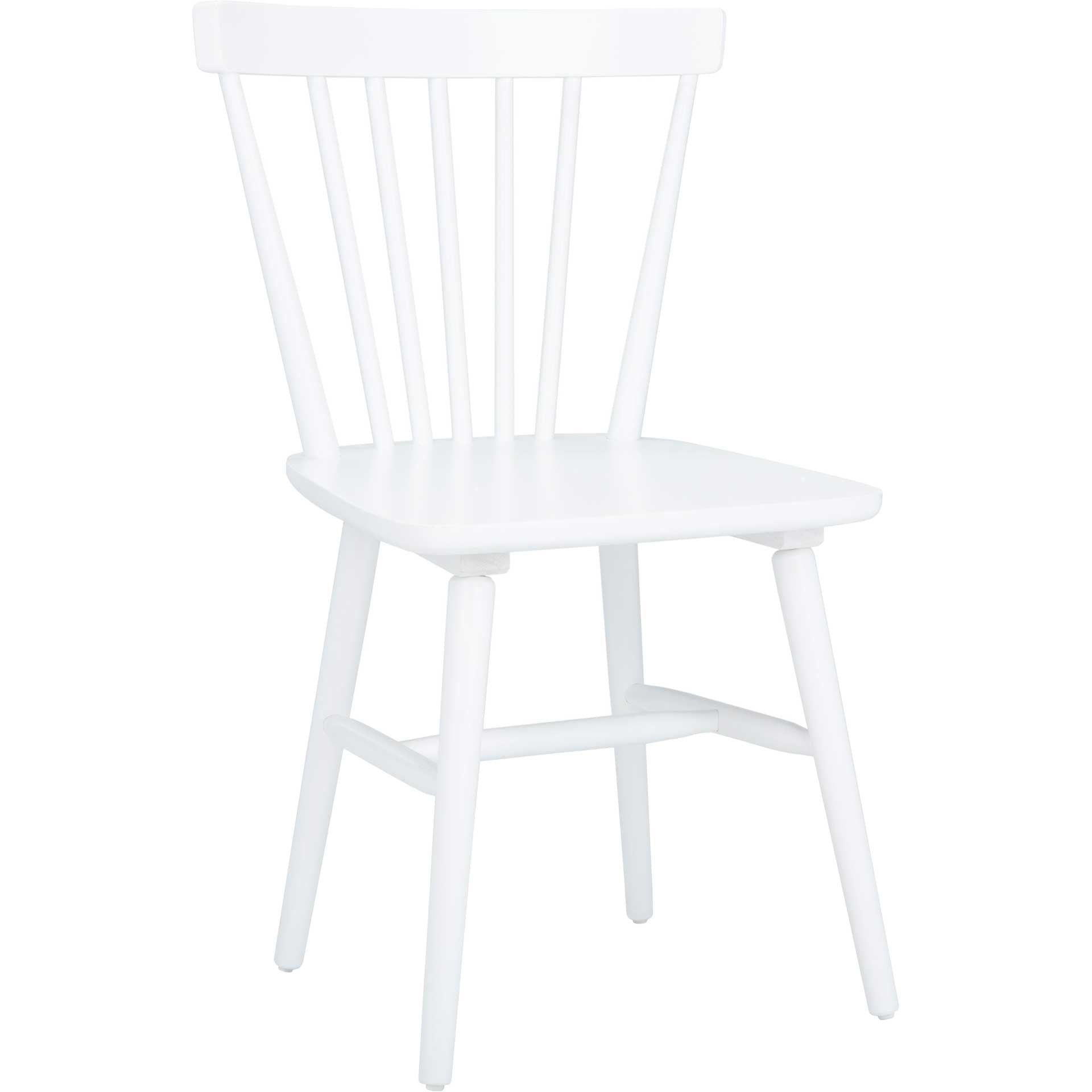 Wilder Spindle Back Dining Chair White (Set of 2)