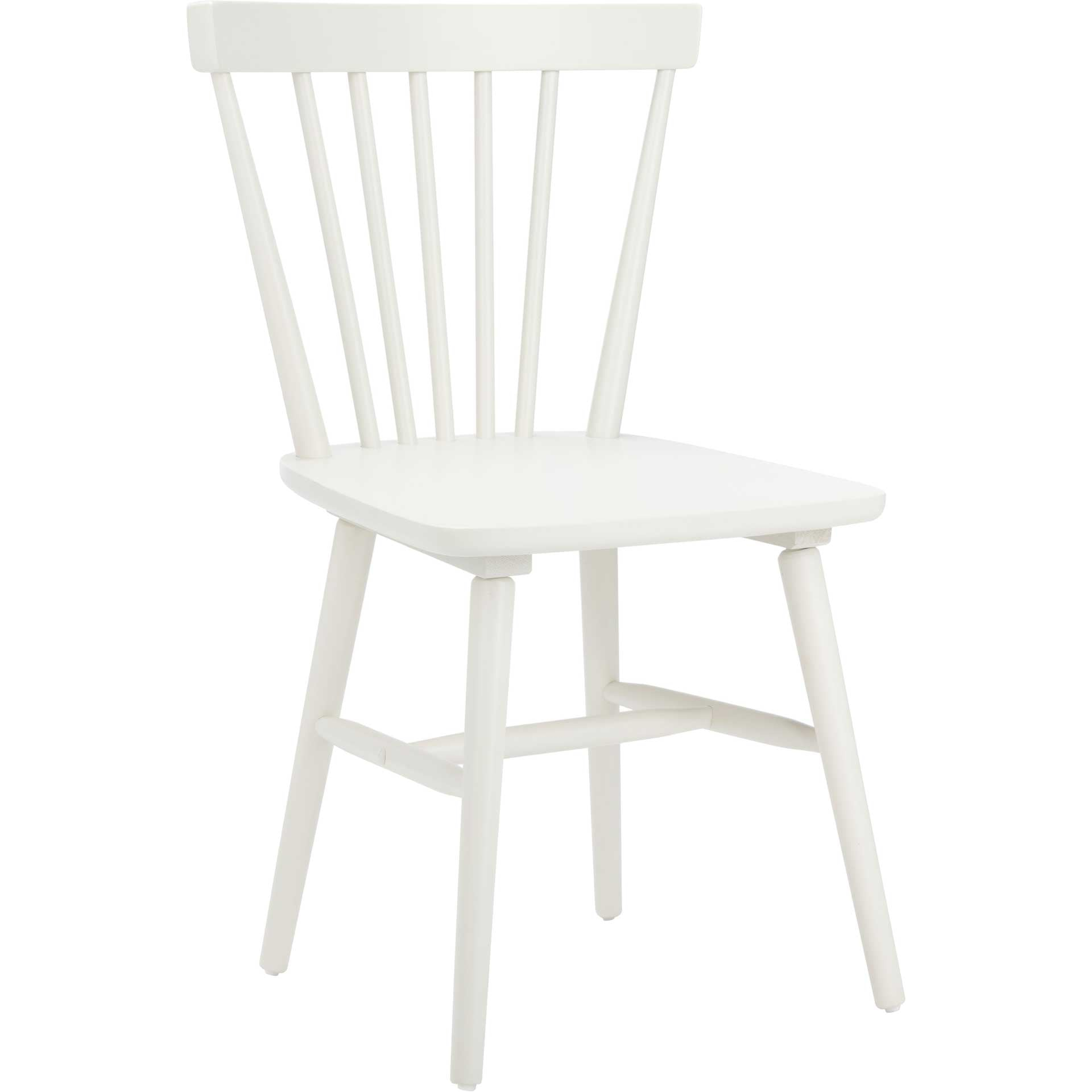 Wilder Spindle Back Dining Chair Off White (Set of 2)
