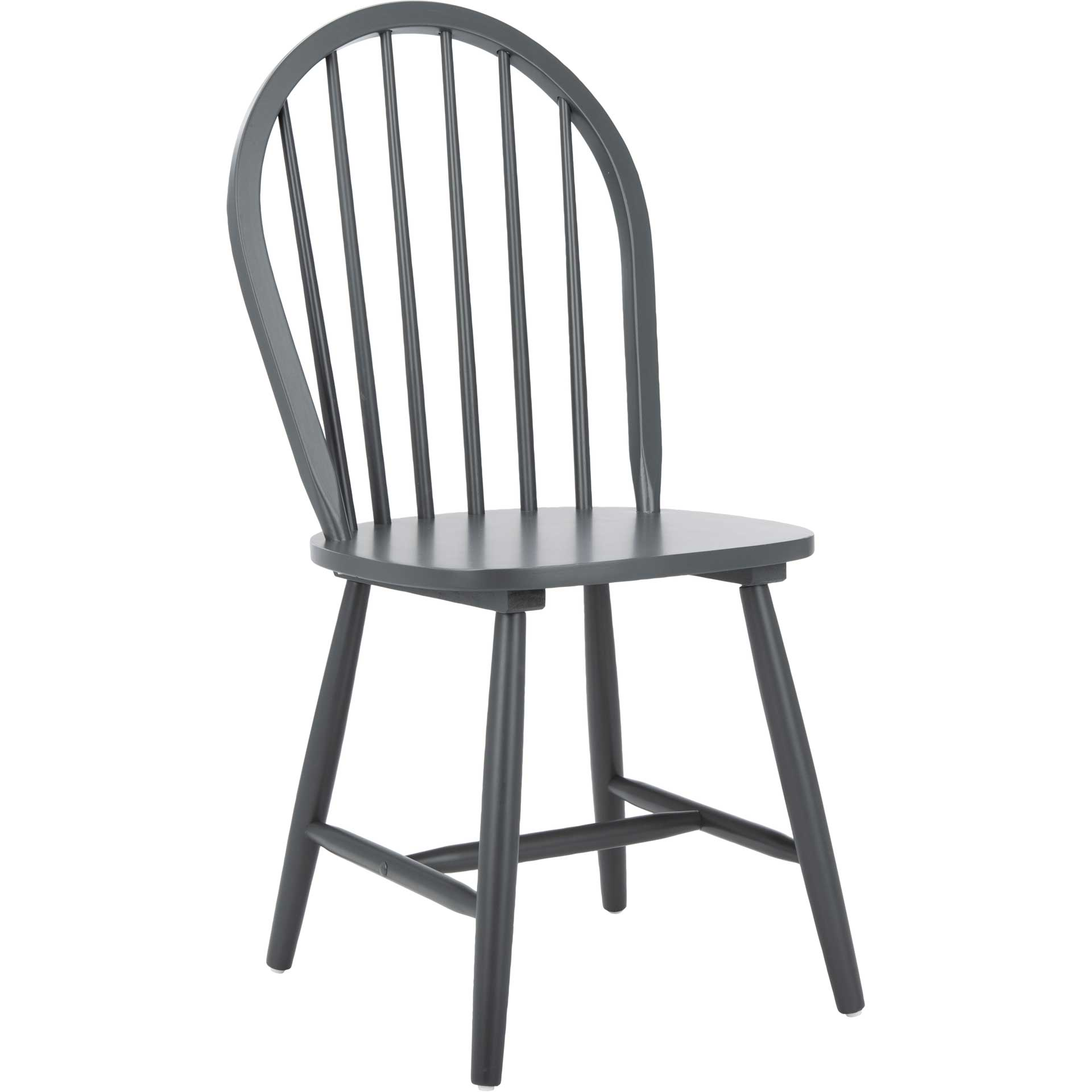 Calista Spindle Back Chair Gray (Set of 2)