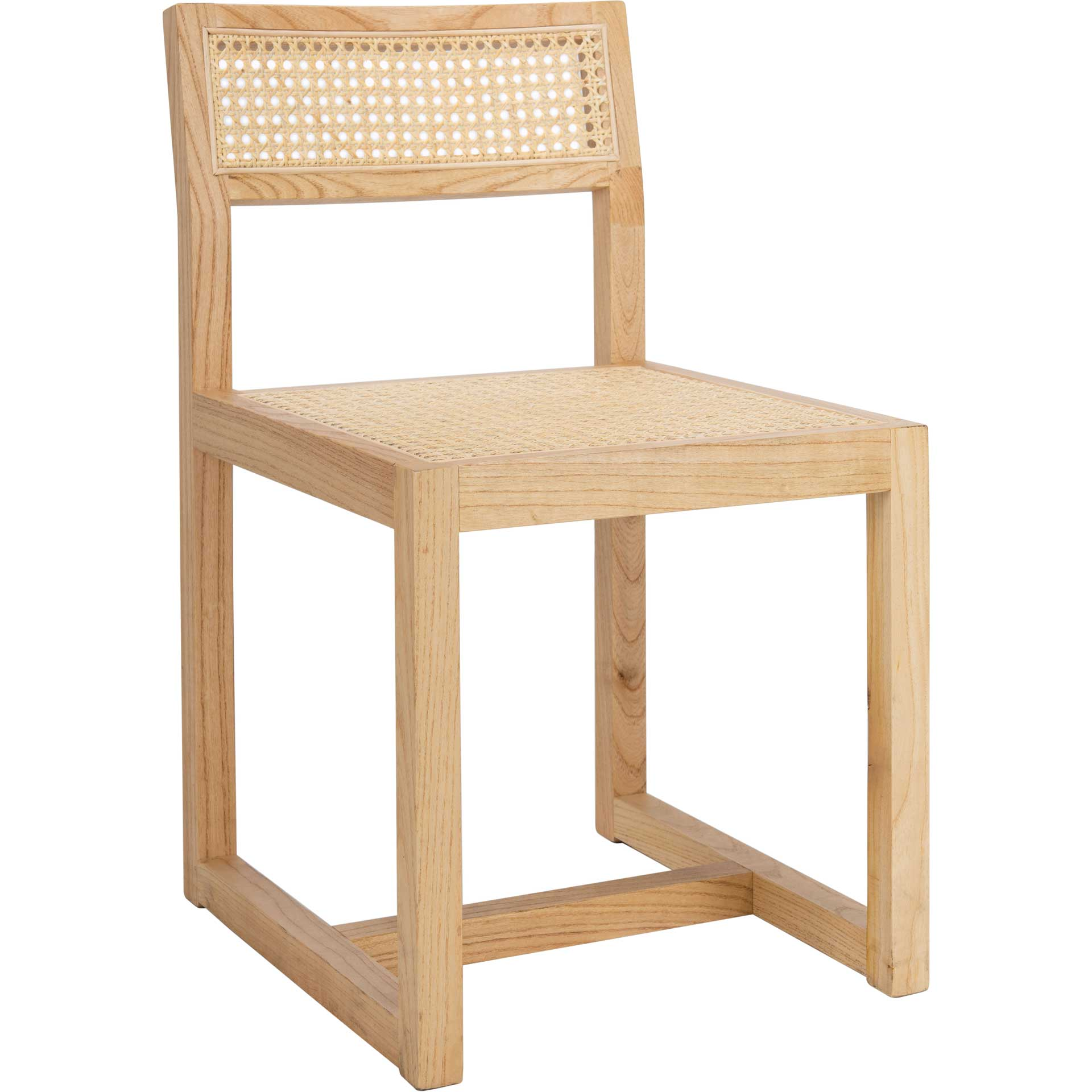 Bellini Cane Dining Chair Natural