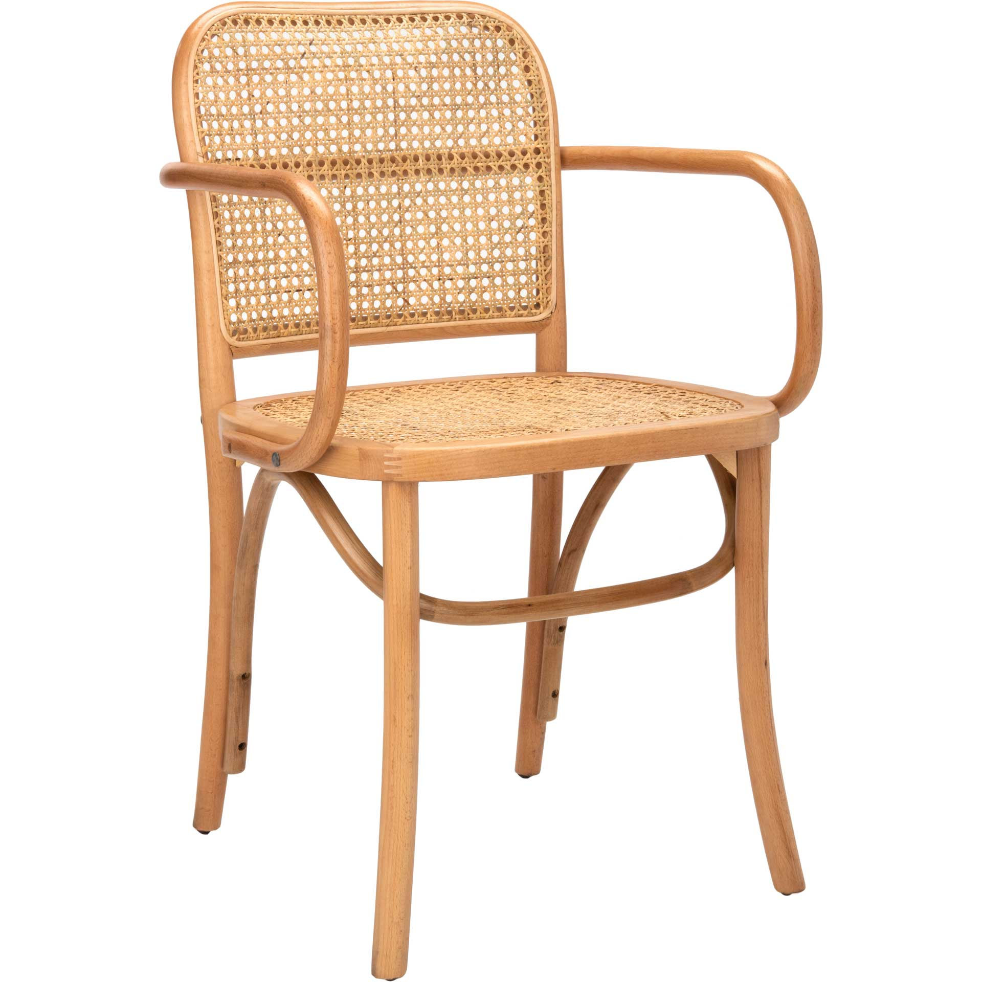 Keanu Cane Dining Chair Natural