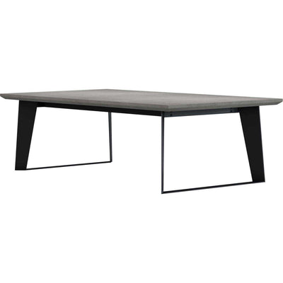 Amsterdam Coffee Table Gray Concrete