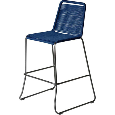 Barclay Barstool Chair Blue