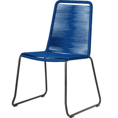 Barclay Side Chair Blue (Set of 2)