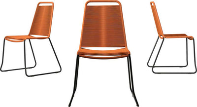 Barclay Side Chair Orange (Set of 2)