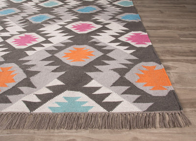 Desert Thissle Dark Gray/Multi Area Rug