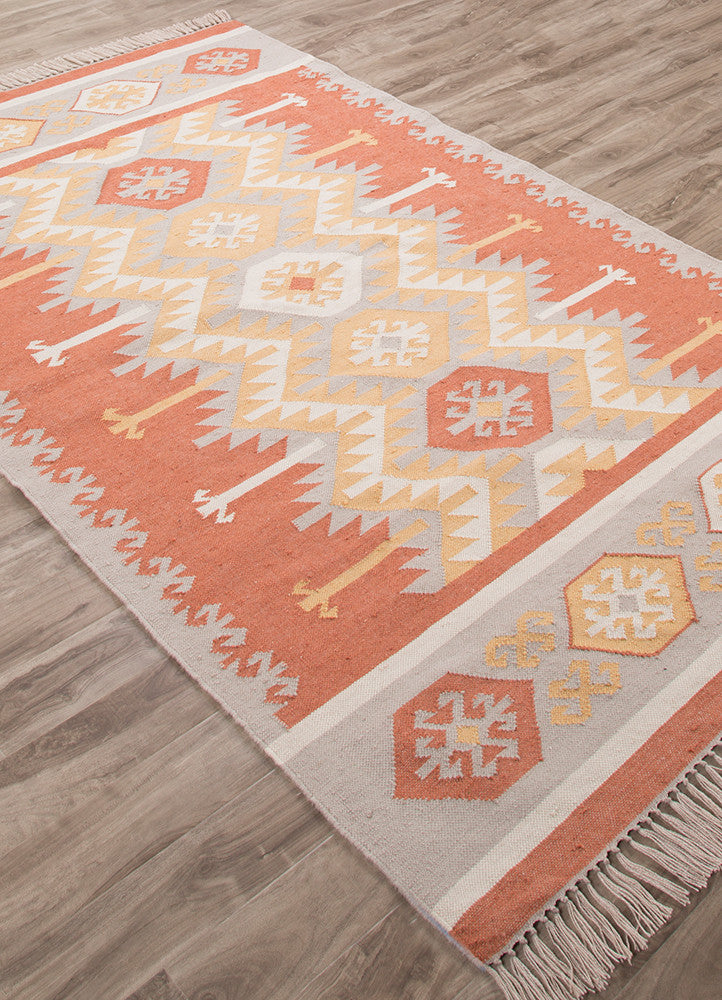 Desert Emmett Orange/Yellow Area Rug