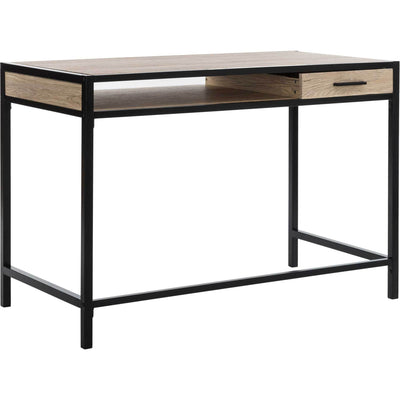 Aleena 1 Shelf Desk With Drawer