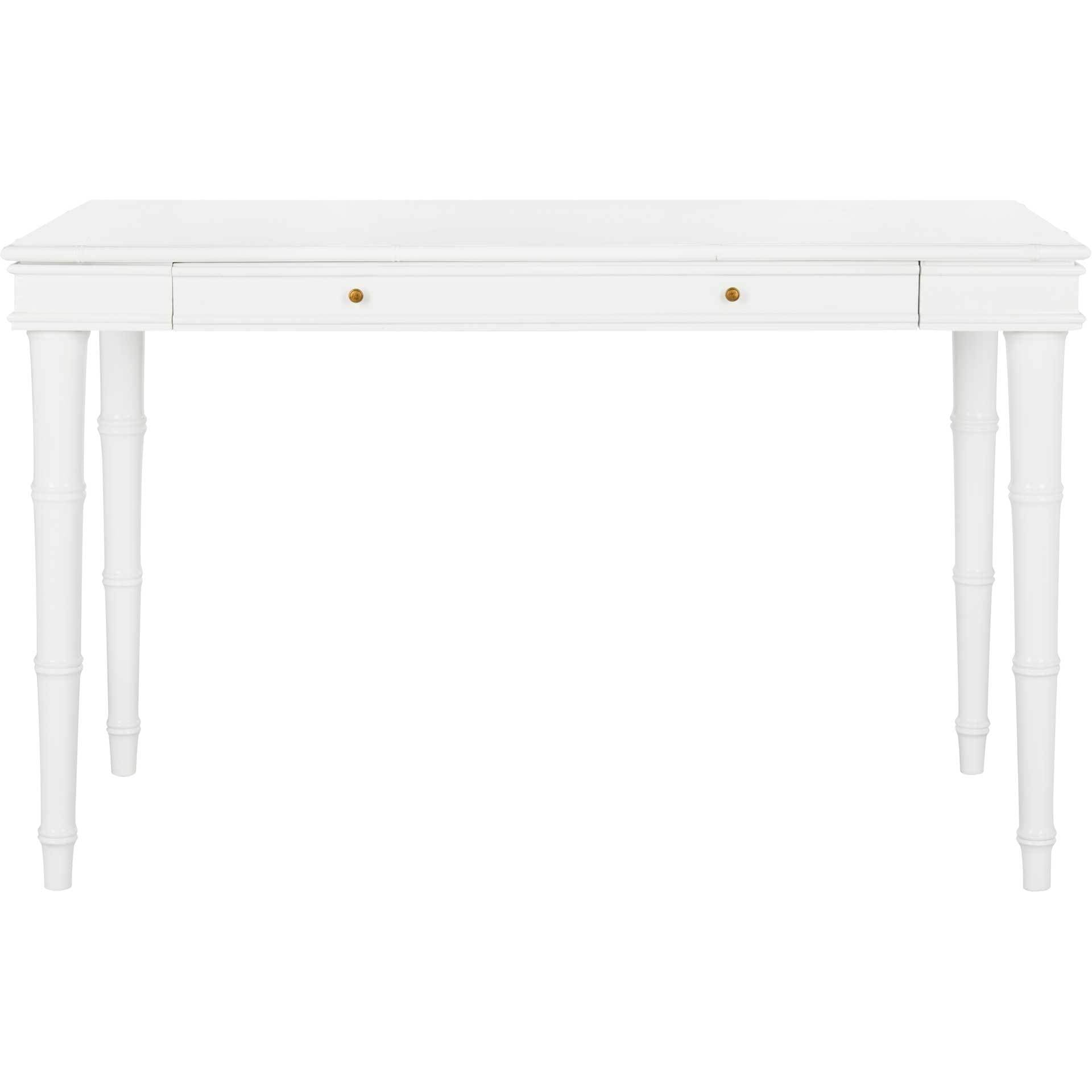 Noemi Coastal Writing Desk White