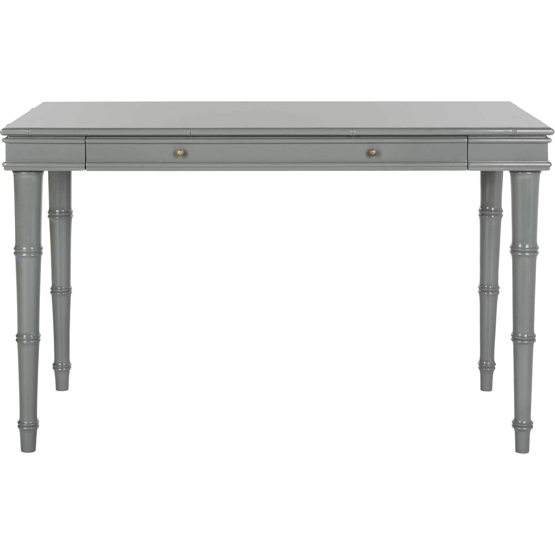 Noemi Coastal Writing Desk Gray