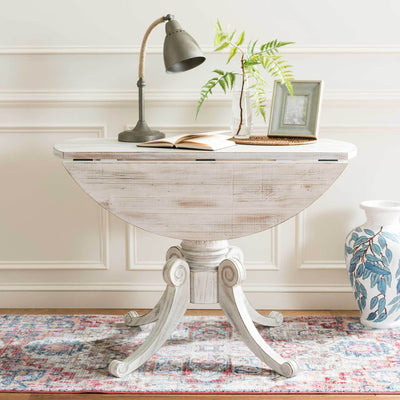 Ford Drop Leaf Dining Table Antique White