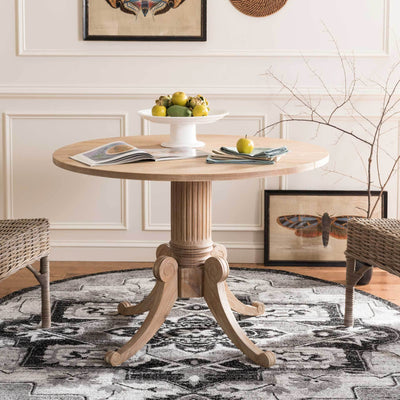 Ford Drop Leaf Dining Table Rustic Natural