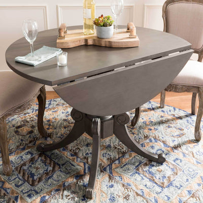 Ford Drop Leaf Dining Table Gray Wash