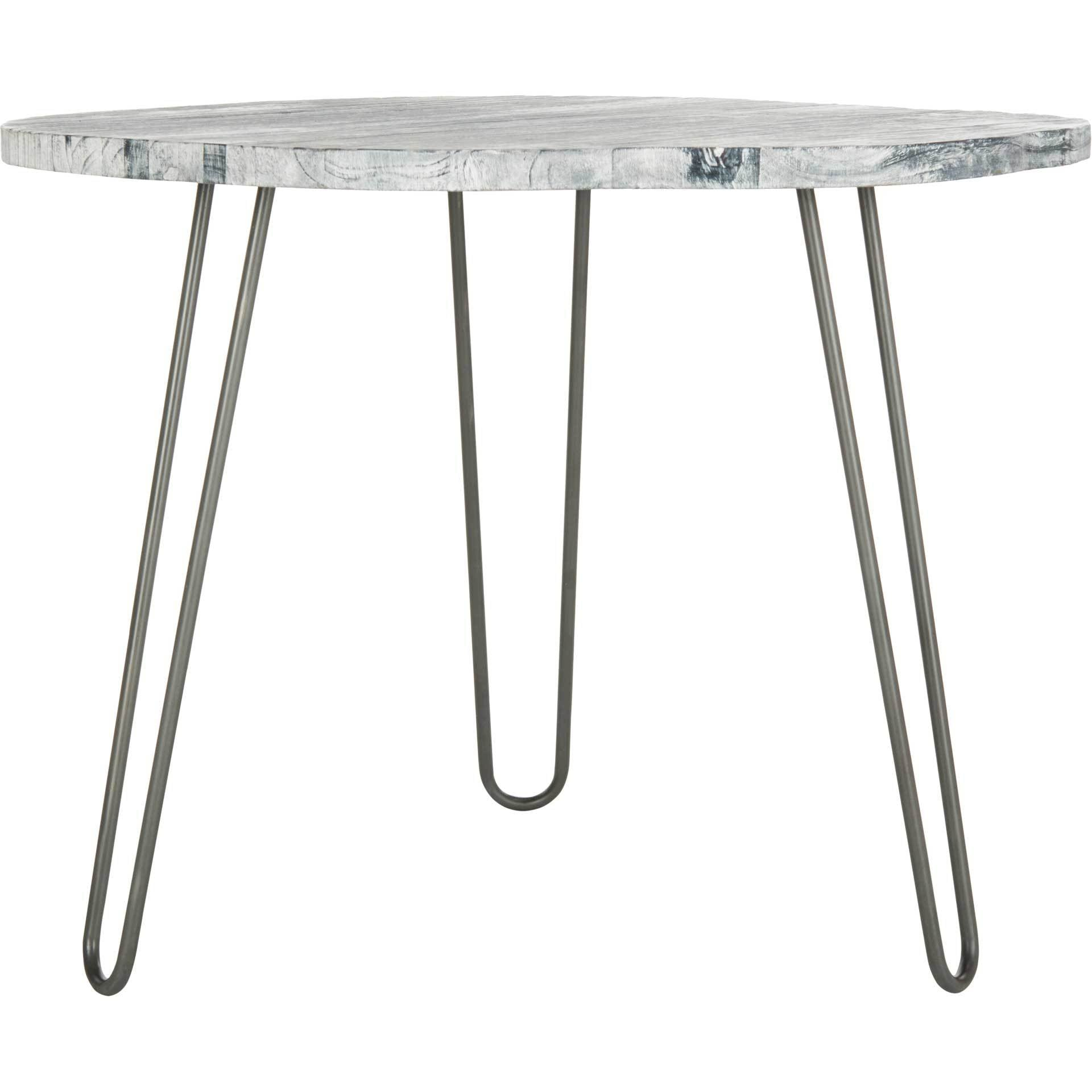 Miller Dining Table Gray/White Washed
