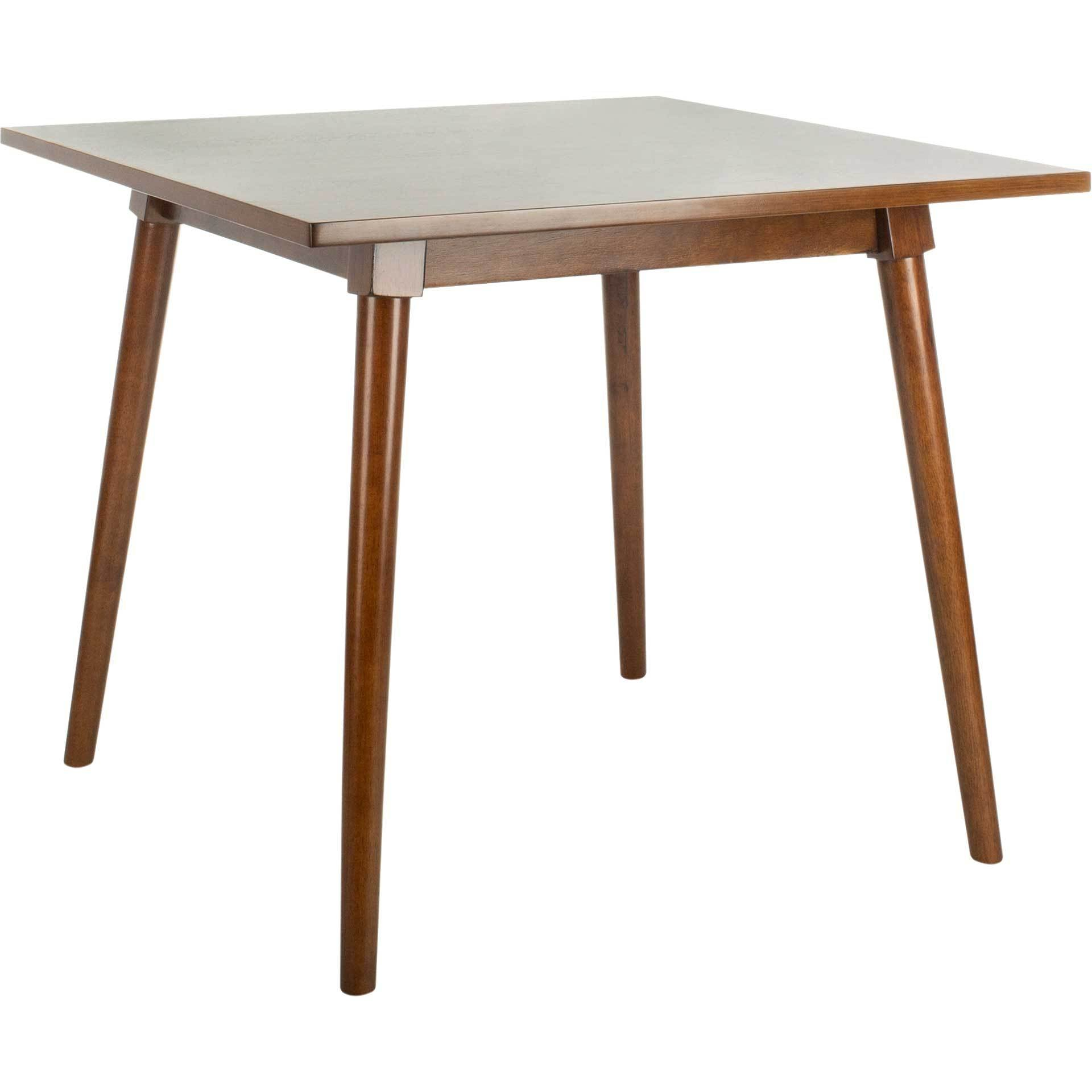 Sibel Square Dining Table Walnut