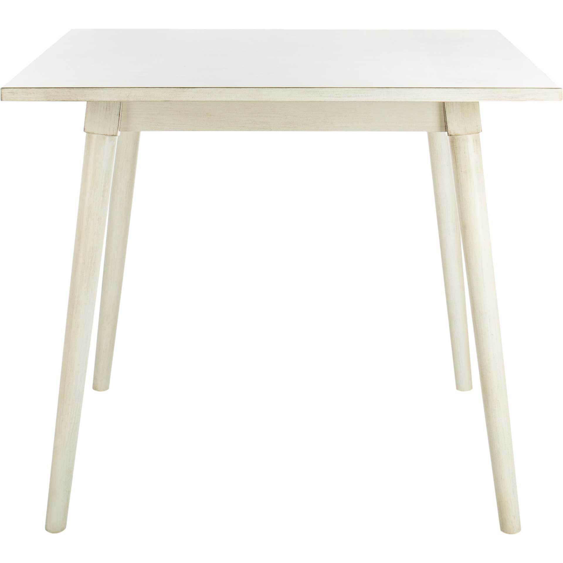 Sibel Square Dining Table White