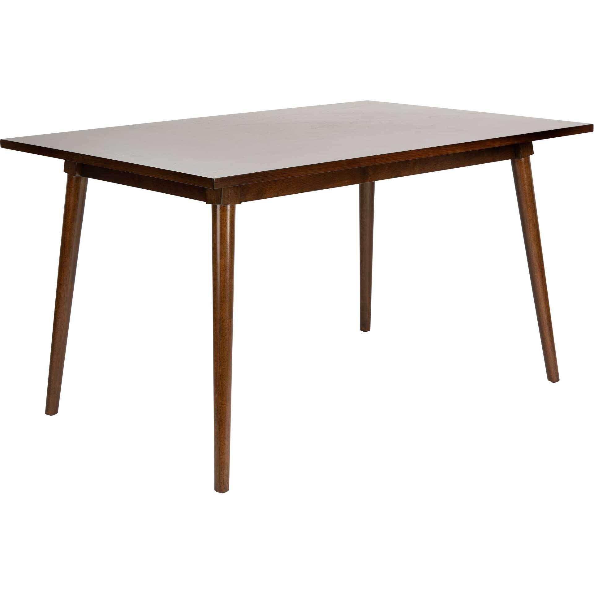 Tiana Rectangle Dining Table Walnut