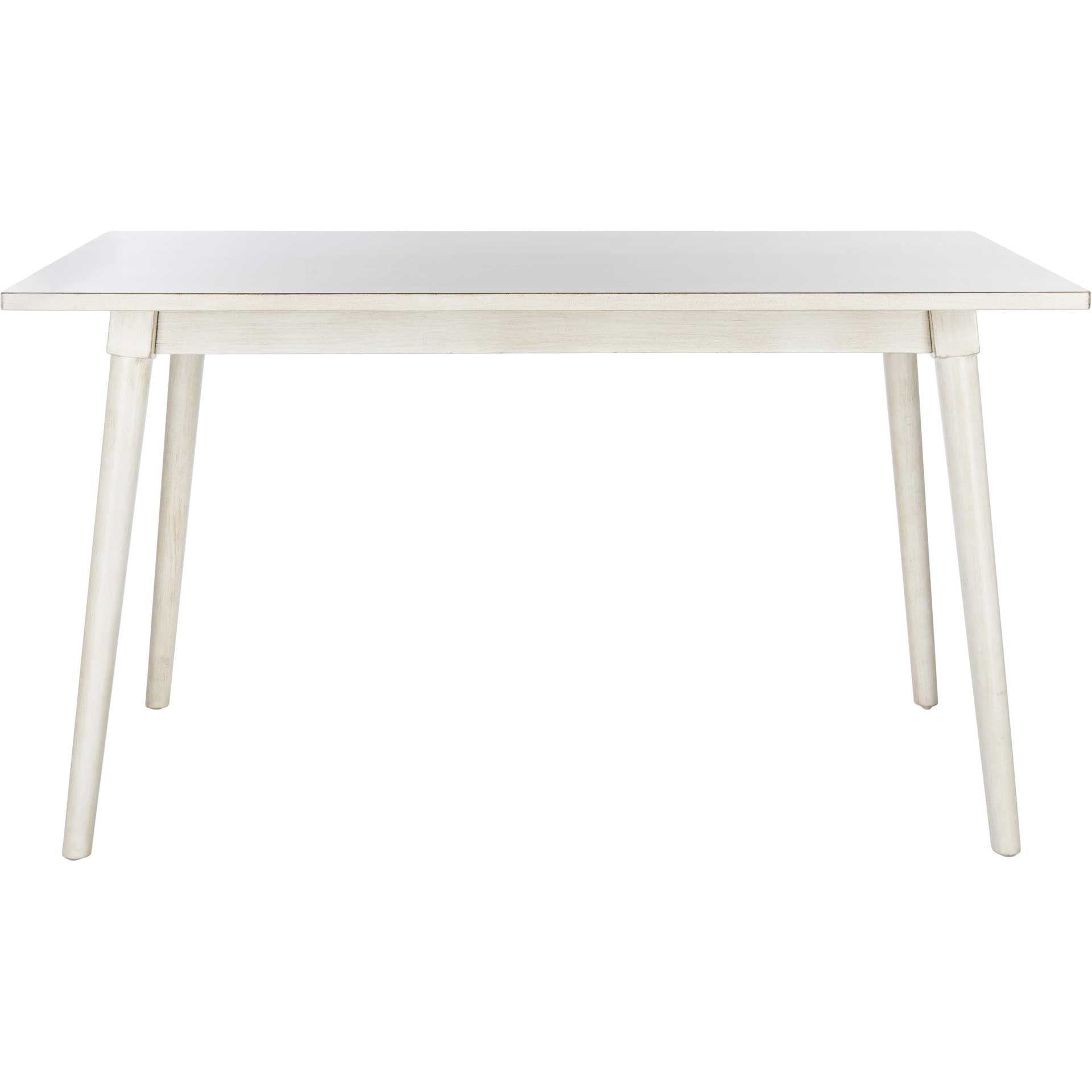 Tiana Rectangle Dining Table Antique/White