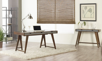 Danne Desk Walnut/Gray