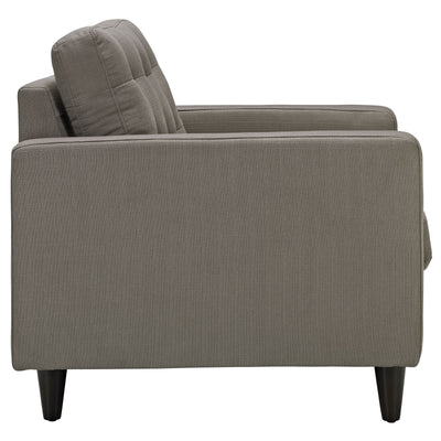 Era Upholstered Armchair Granite
