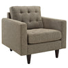 Era Upholstered Armchair Oatmeal