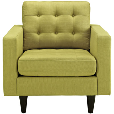 Era Upholstered Armchair Wheatgrass